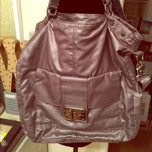 Steve Madden Shimmer cross-body purse